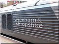 TQ2782 : Wrexham & Shropshire Railway locomotive branding by John Lucas
