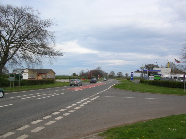A64 & Petrol Station