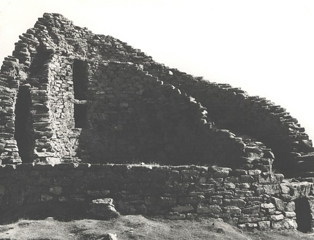 Interior view of Broch at Dun Calaway