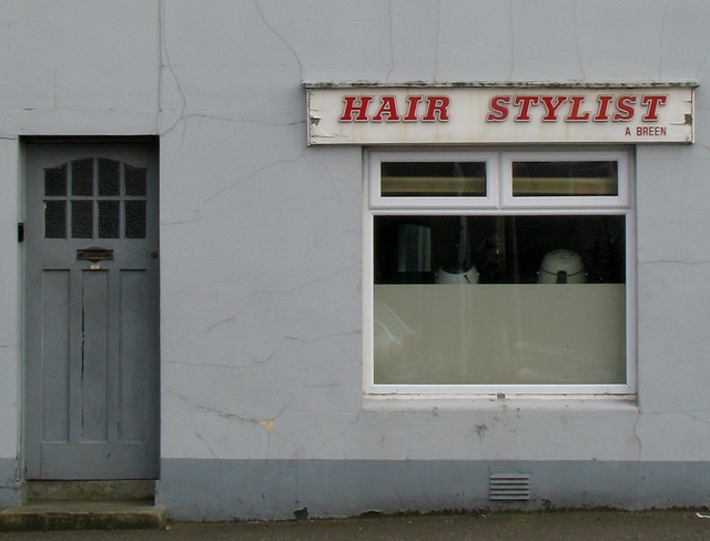Hairdresser, Church Street, Bangor
