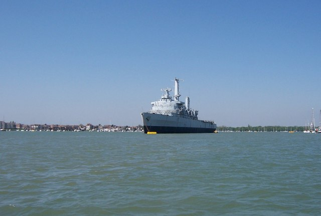 HMS Intrepid - Portsmouth Harbour
