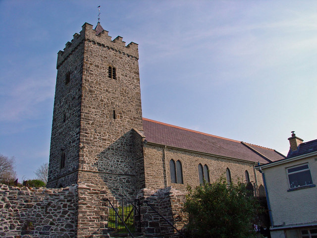 Parish church: Llanarth
