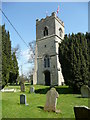 SP7930 : St. Nicholas' tower, Little Horwood by Jonathan Billinger