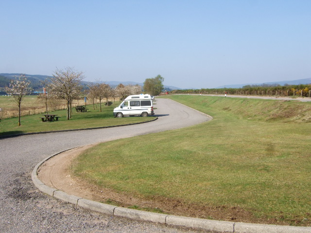 Picnic Site by Aboyne Airfield