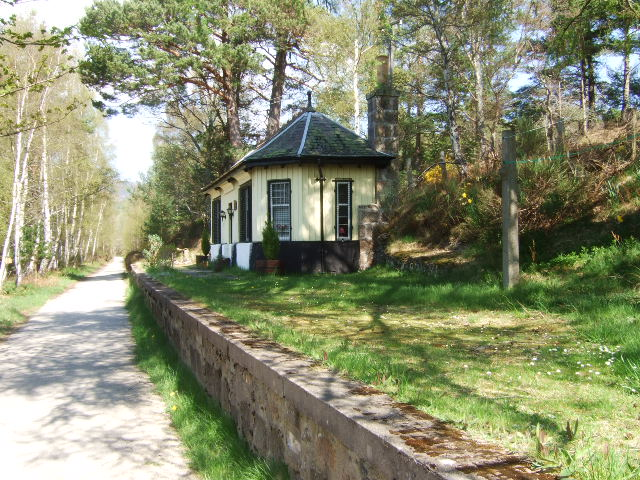 Old station platform