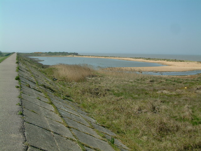 Lagoon and Sea Defence wall