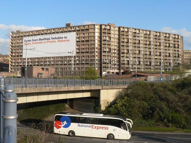 Sheffield: Park Hill flats