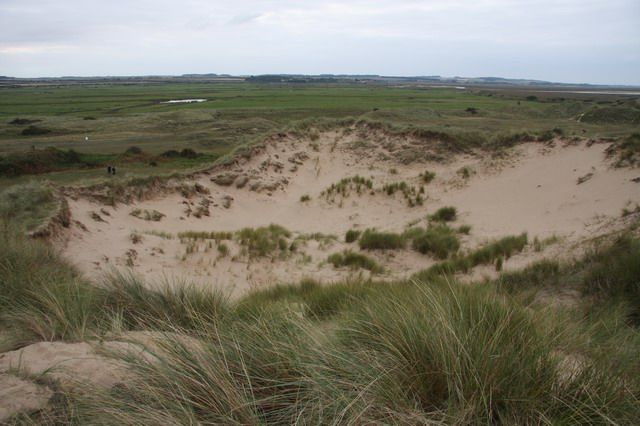 Sand bowl in Burnham Overy Dunes