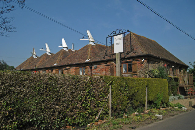 Thruxted Oast Mystole Lane Chartham 169 Oast House
