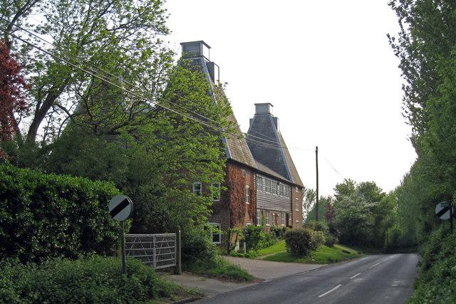 Brogdale Oast, Brogdale Road, Ospringe, Kent