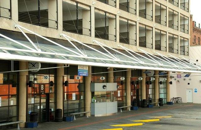 Laganside Bus Station Car Park