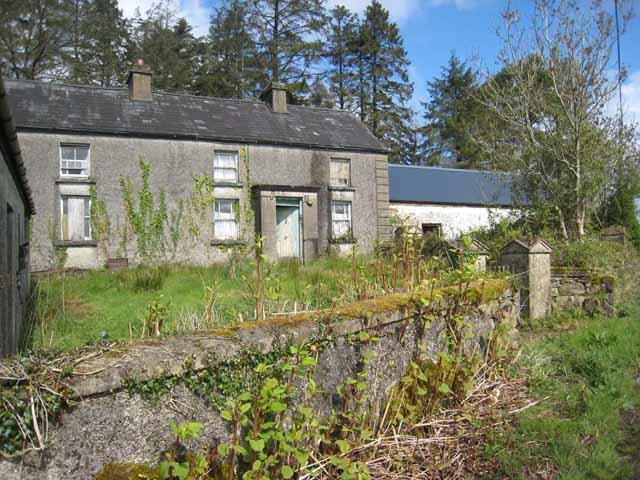 Old farmhouse at Boggaun