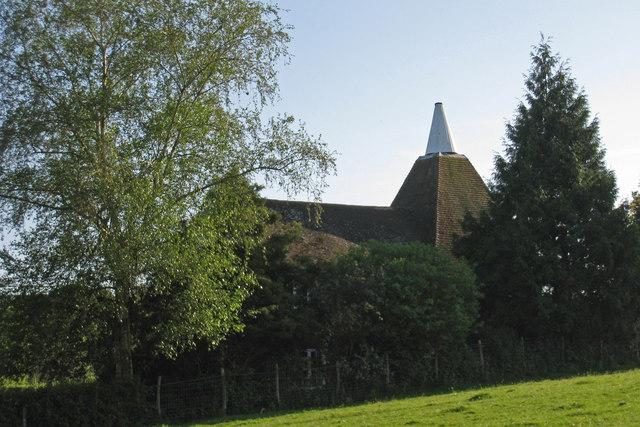 Oast House at Rowland Farm, Hensil Lane, Hawkhurst, Kent