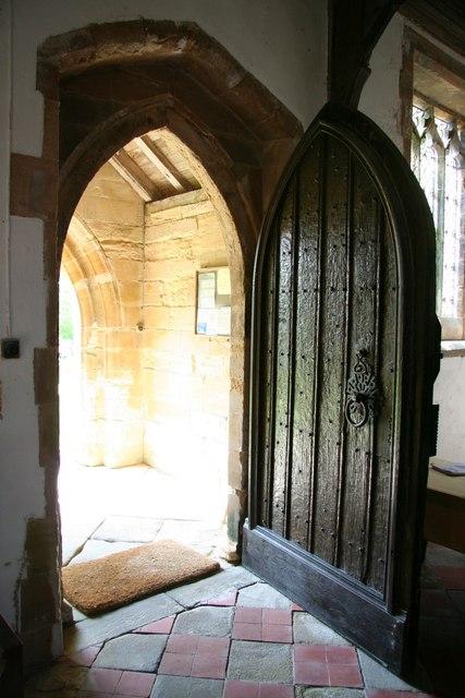 Open door richard croft geograph britain and ireland for 0pen door
