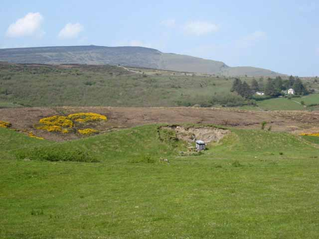 Hills near Treanscrabbage