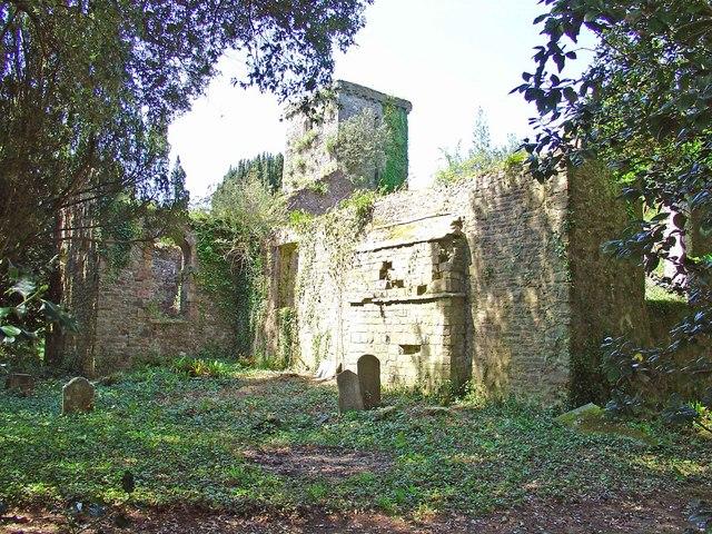 Slebech Old Parish Church