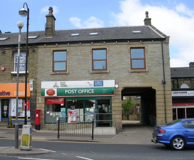 Marsh post office westbourne road betty longbottom cc for 12 terrace road post office