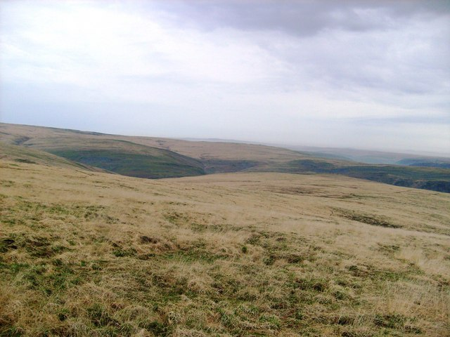 Waun, looking over Rhiwnant