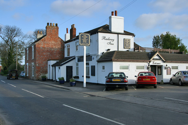 The Railway Inn, New Ellerby, East Yorks.