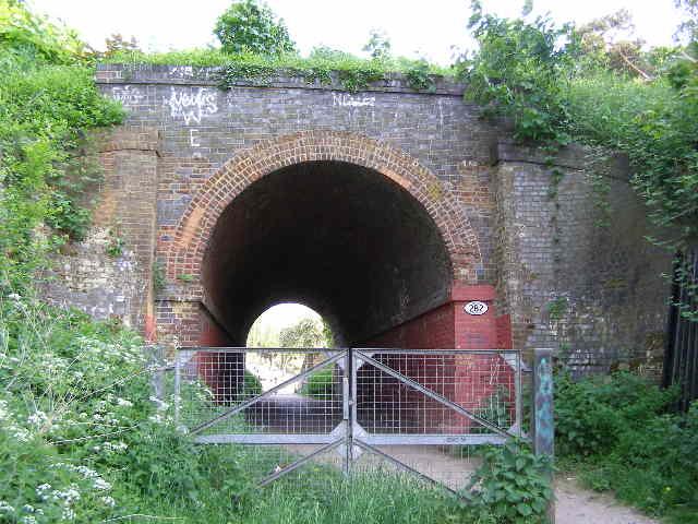 Railway bridge, East Ewell