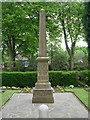 SE1321 : War Memorial - Crowtrees Lane, Rastrick by Betty Longbottom