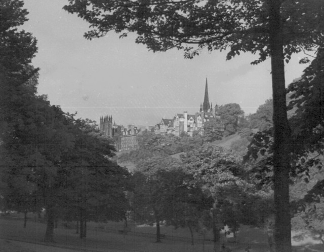 Edinburgh from Princes Street Gardens