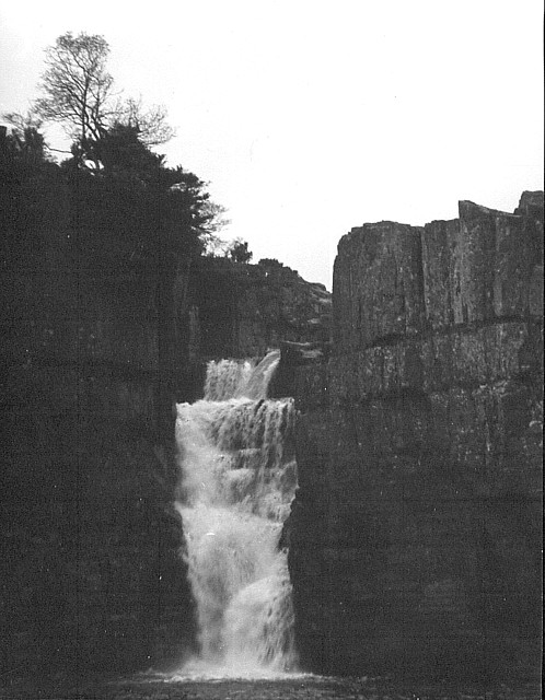 High Force Teesdale 1954