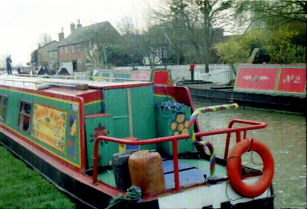 Narrow Boats at Stoke Bruerne