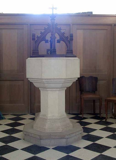 St Botolph, Botolph Morley, Norfolk - Font