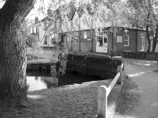 The Bridge over the Tilling Bourne at Shere.