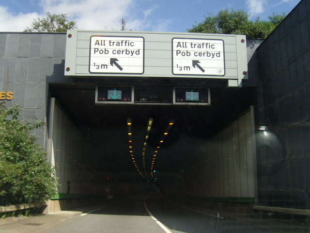 Butetown Tunnel East Entrance