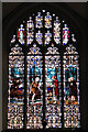 TG5112 : Holy Trinity church - east window by Evelyn Simak