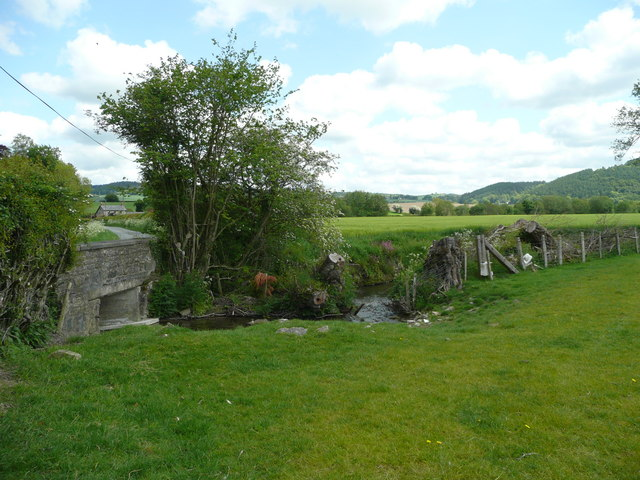 Bridge over the Hindwell Brook