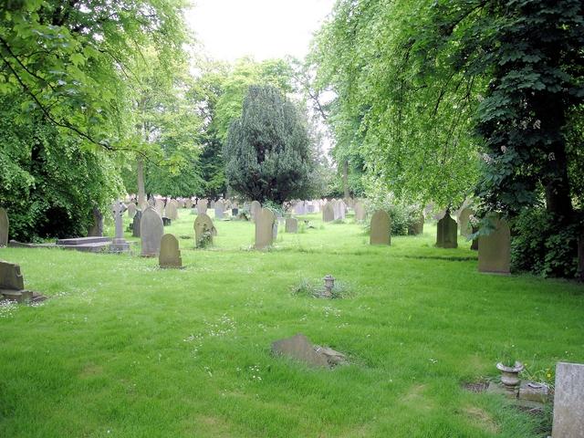 Crewe - Coppenhall Cemetery
