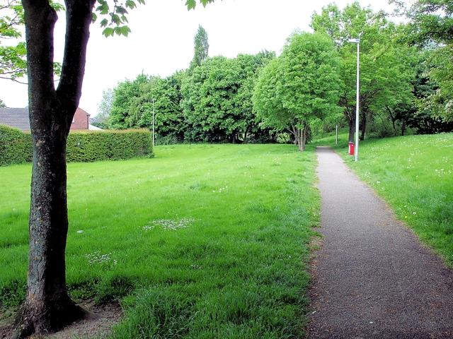 Crewe - Crewe Town footpath 13