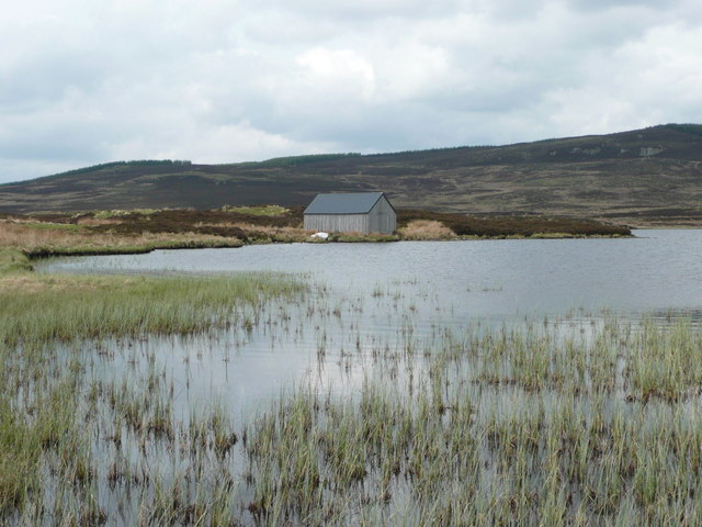Boathouse on Loch Broom