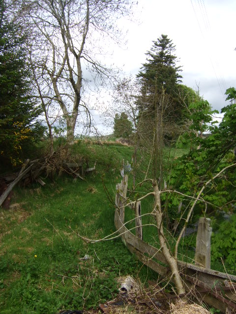 Old Deeside Railway embankment