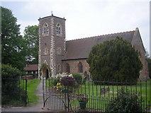 SO8090 : Bobbington church by Row17