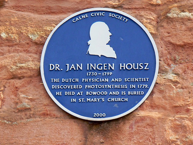 Blue plaque, Church Street, Calne