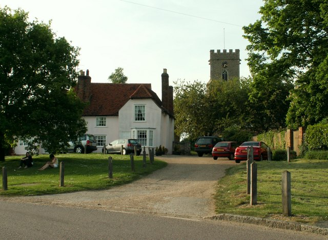 The way to the church at Witham