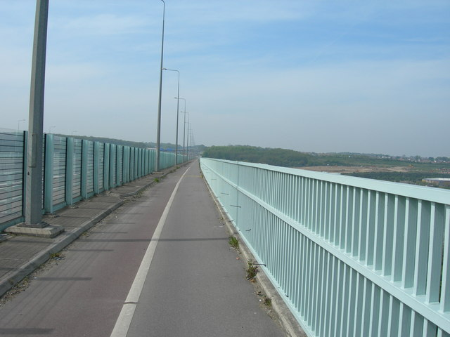 Foot and Cycle Path Across River Medway
