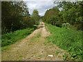 NJ5600 : Up-line old Deeside Railway by Stanley Howe