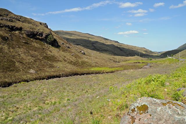 Abhainn nan Lub and Glen Shieldaig