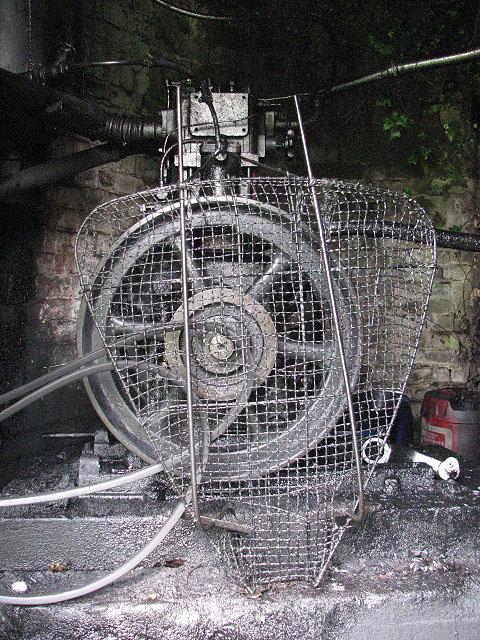 A Lister diesel engine