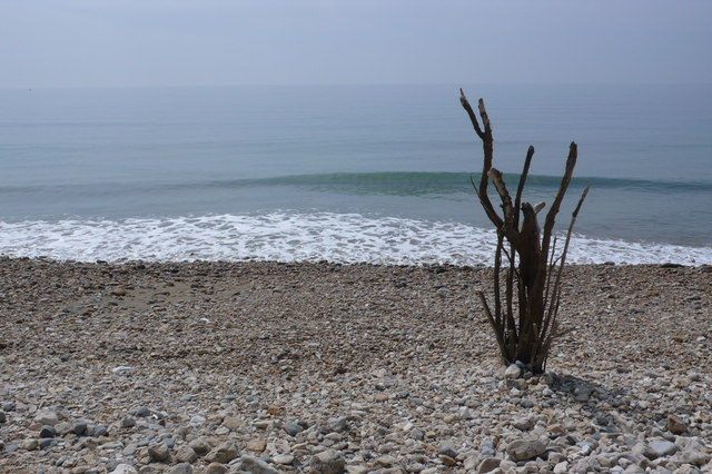 Impromptu Beach Sculpture, Charmouth