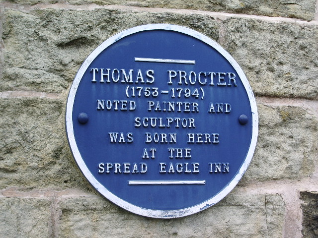 Thomas Procter (Blue Plaque)