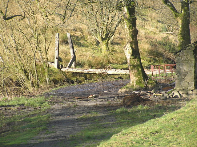 River Severn,Wooden footbridge,Rhyd-yr-Onnen