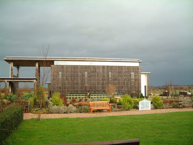The Millennium Chapel of Peace and Forgiveness, at the National Memorial Arboretum, Alrewas, Staffordshire.