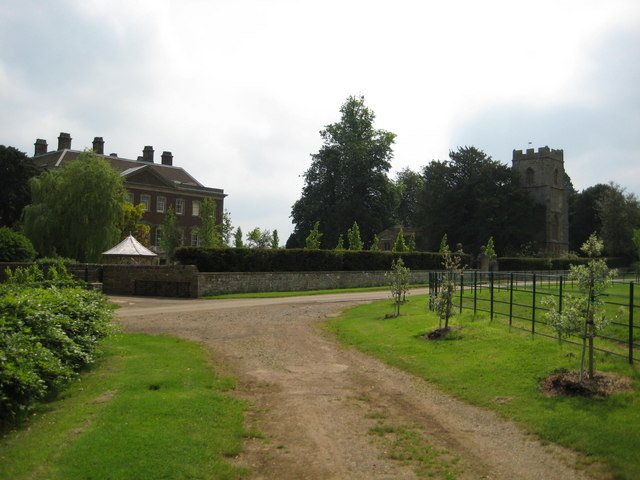 Edgecote House and Church