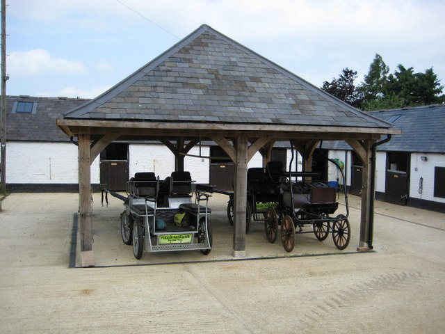 Carriages at Edgecote House